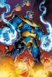 Thanos (Earth-616) returns in Avengers Assemble Vol 2 3 textless