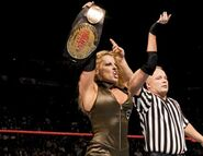 Trish Stratus @ New Year's Revolution 2005