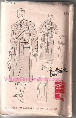 Butterick 1204 cover