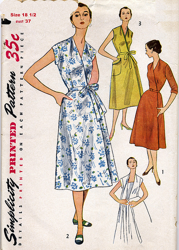 Simplicity 4381 dated 1953