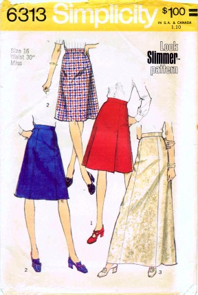 Simplicity 1974 6313