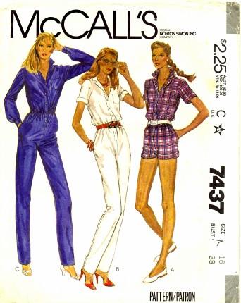McCalls 1981 7437