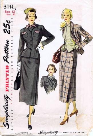 Simplicity 1949 3111