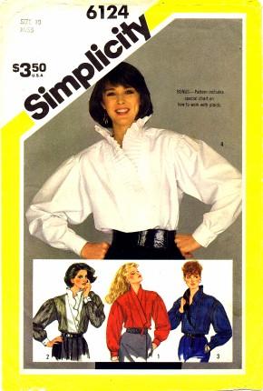 Simplicity 1983 6124