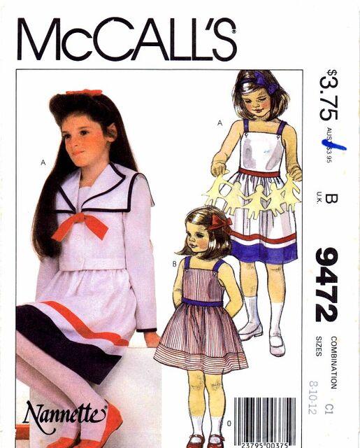 McCalls 1985 9472