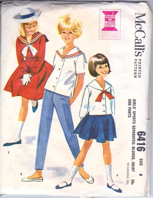 McCalls 6416 SIZE 8