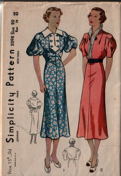 Simplicity 2098 front