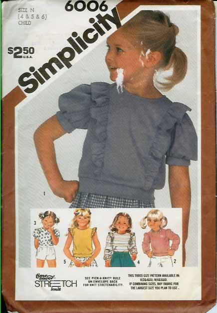 W-6006S 1983 Child-Top