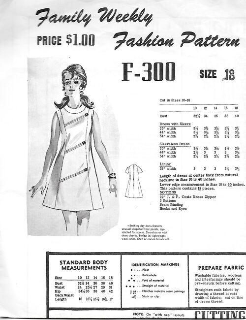 Fashion Pattern F 300 front 1