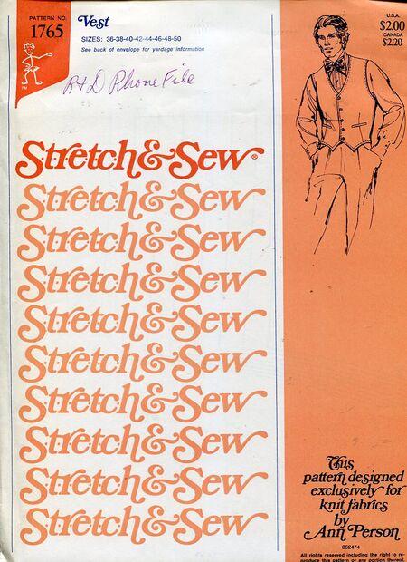 Stretch&sew1765