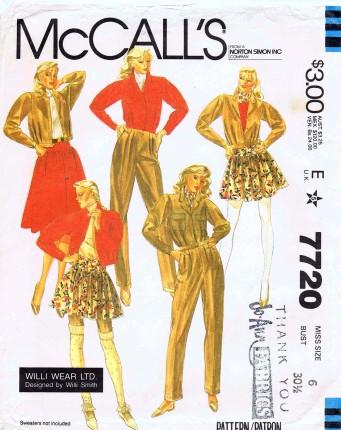 McCalls 1981 7720