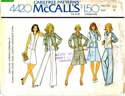 McCalls 4420