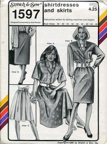 Stretch&sew1597shirtdress