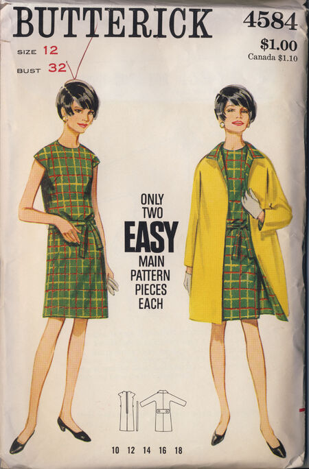 Butterick 4584 image