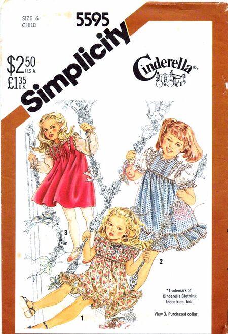 Simplicity 1982 5595