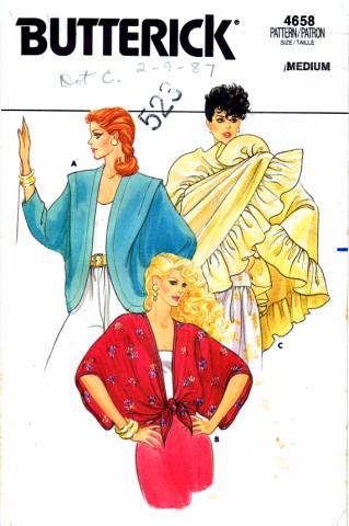 Butterick 1986 4658