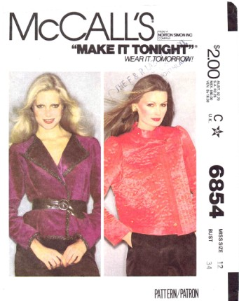 McCalls 6854