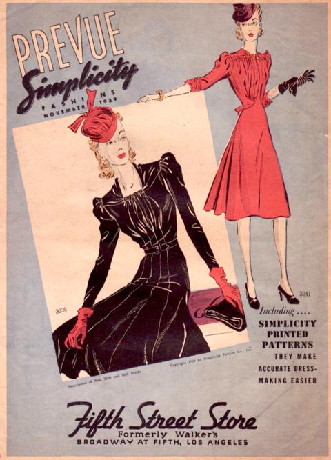 Simplicity Prevue November 1939