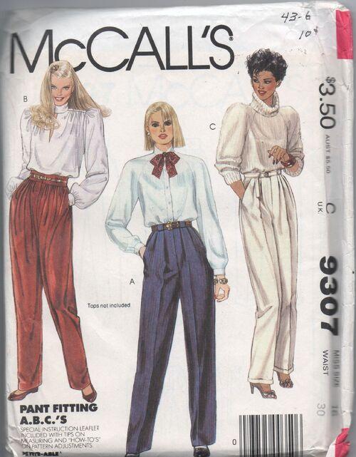 McCalls 9307