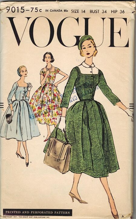 Vogue 9015 50s
