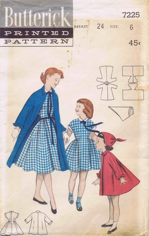 Butterick 1955 7225