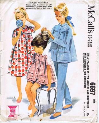 McCalls 1962 6697