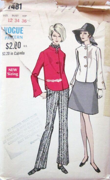 Vogue 7481