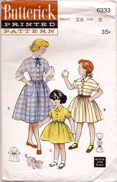 Butterick 6233 front