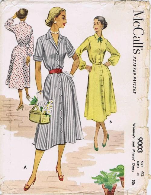 McCalls 1952 9003
