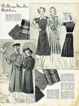 Praktische Damen und Kinder Mode 1938 0011