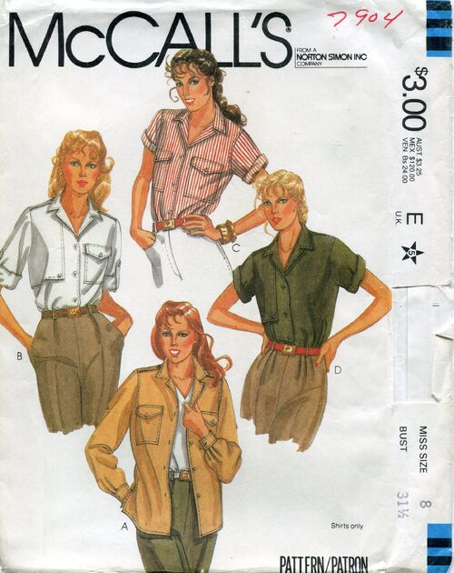 Mccalls7904shirts