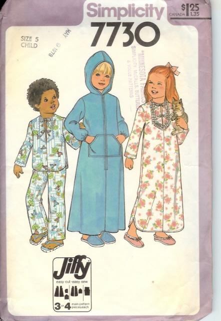 7730s 1977 childrobe