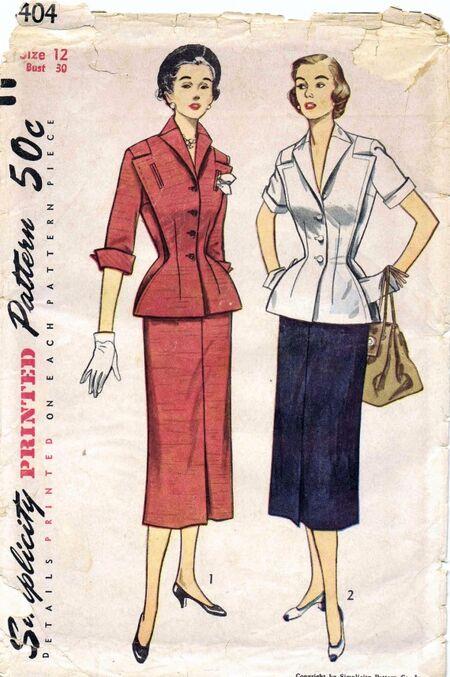 Simplicity 1951 8404