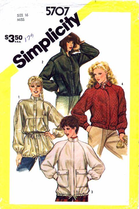 Simplicity 1982 5707