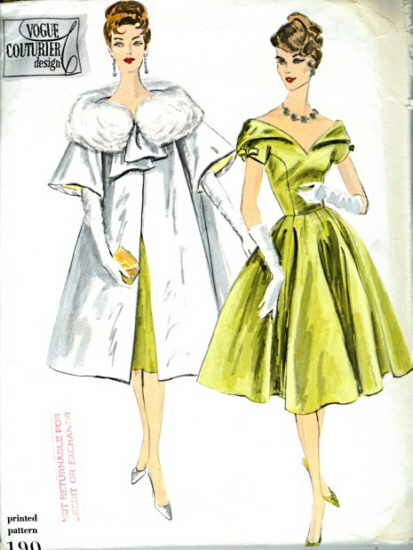 Vogue 190 Vintage Sewing Patterns Fandom Powered By Wikia