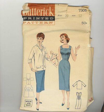 Butterick 7305