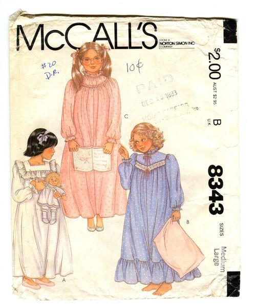 McCalls 8343