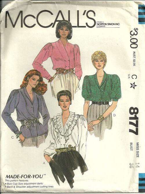 McCalls 8177