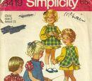 Simplicity 8419 A