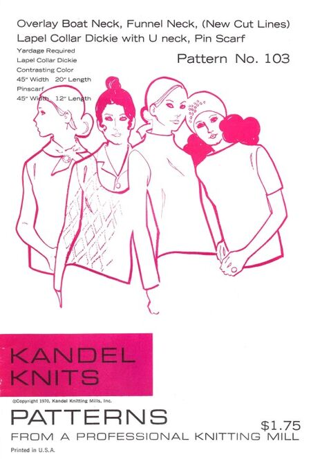 Kandel Knits 1970 103