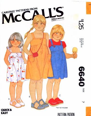 McCalls 1979 6640