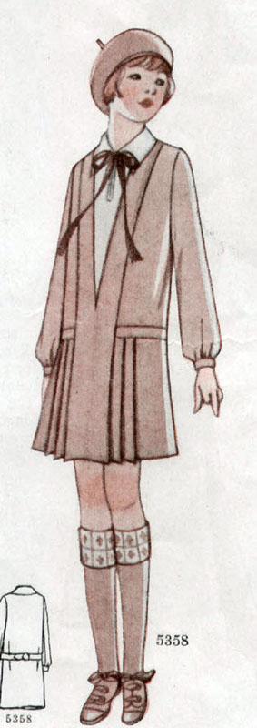 McCall 5358 1928