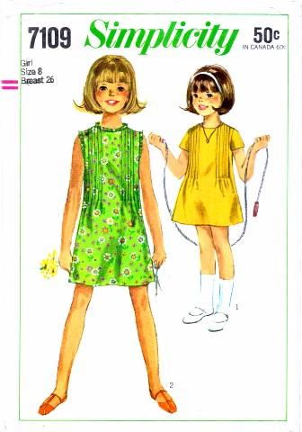 Simplicity 1967 7109