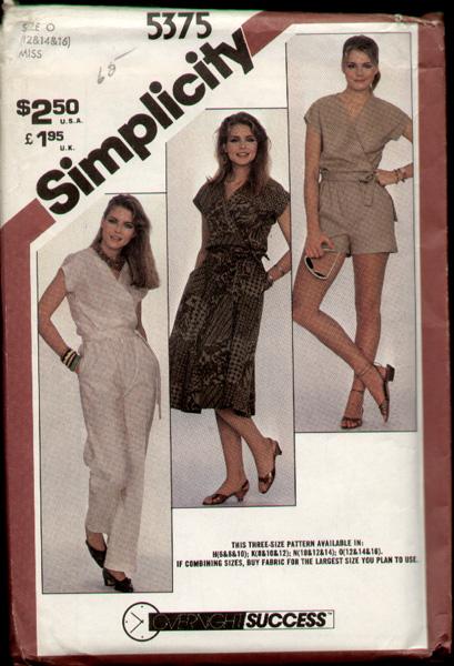 Simplicity 5375 81 a