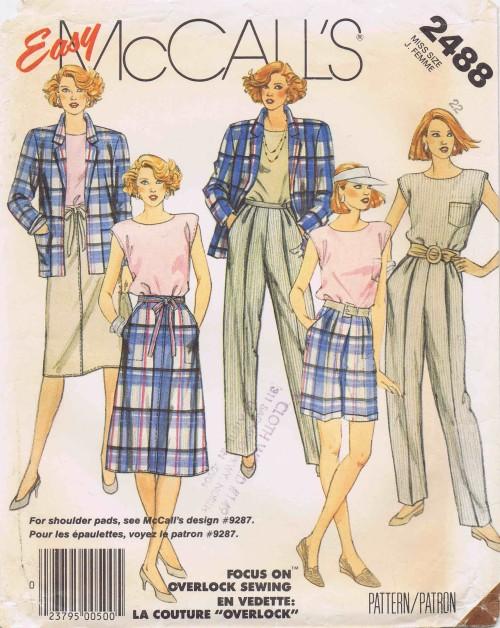 McCalls 1986 2488
