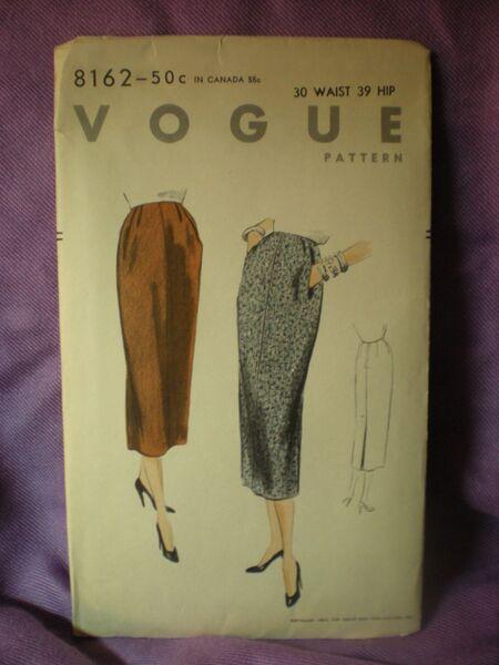 Vogue 8162 image