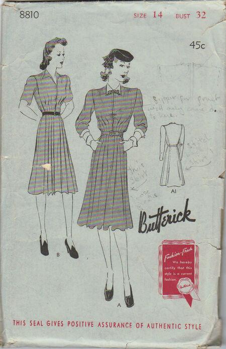 Butterick 8810