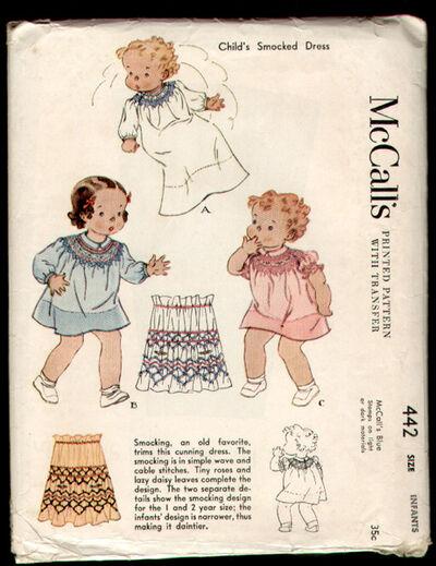 McCalls 442 36 a