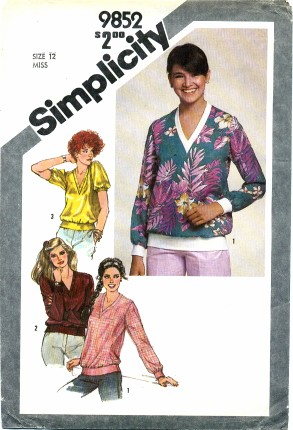 Simplicity 1980 9852