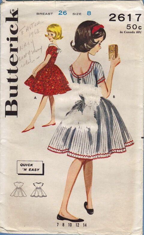 Butterick 2617 Env Front
